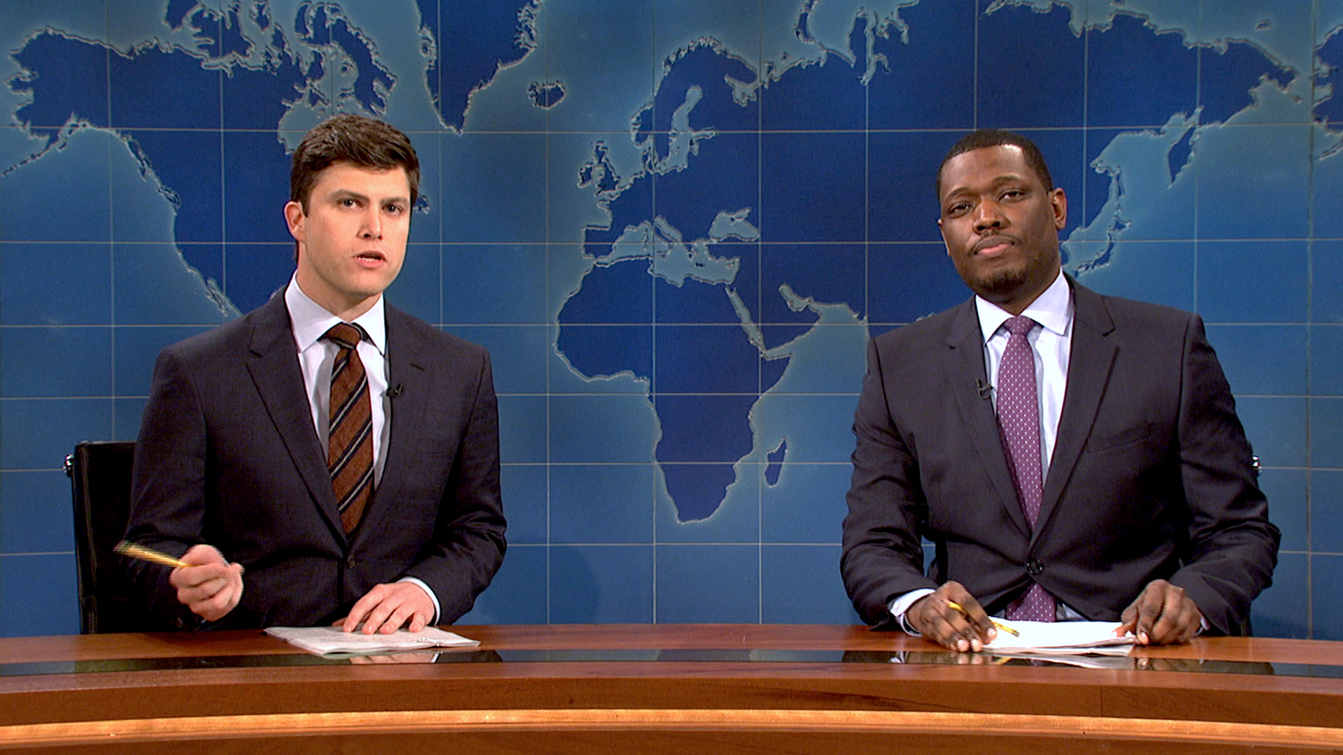 'Saturday Night Live': Colin Jost & Michael Che Named Co ...